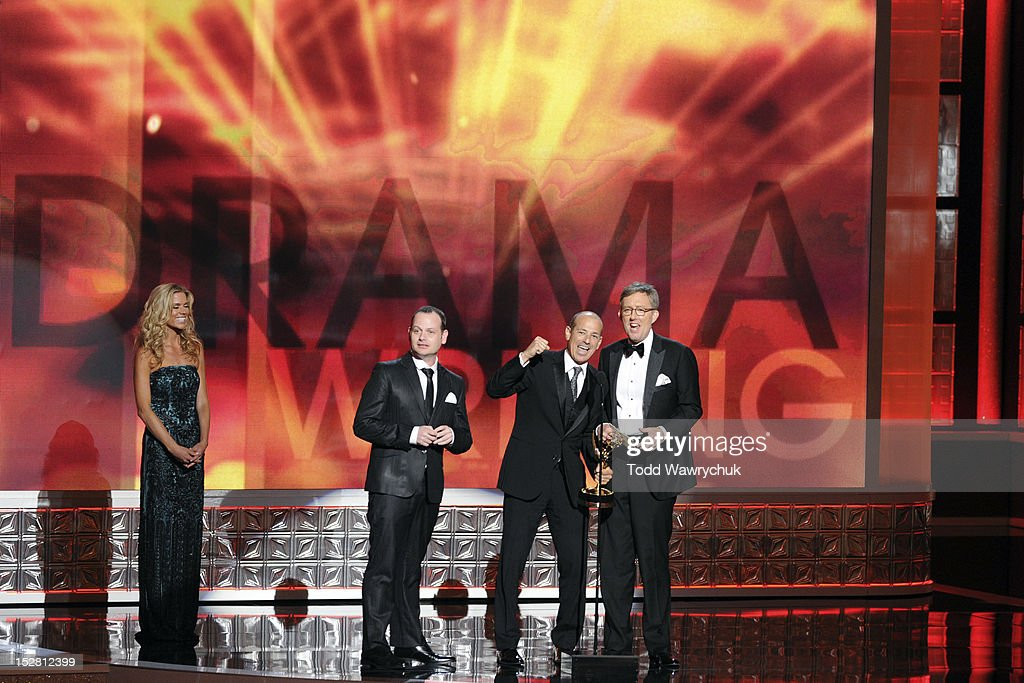 EMMY(r) AWARDS - The 64th Primetime Emmy Awards broadcasts live from 8:00-11:00 p.m., ET/5:00-8:00 p.m., PT., Sunday, September 23, 2012 exclusively on ABC. GIDEON