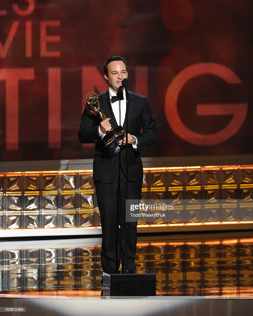 EMMY(r) AWARDS - The 64th Primetime Emmy Awards broadcasts live from 8:00-11:00 p.m., ET/5:00-8:00 p.m., PT., Sunday, September 23, 2012 exclusively on ABC. DANNY