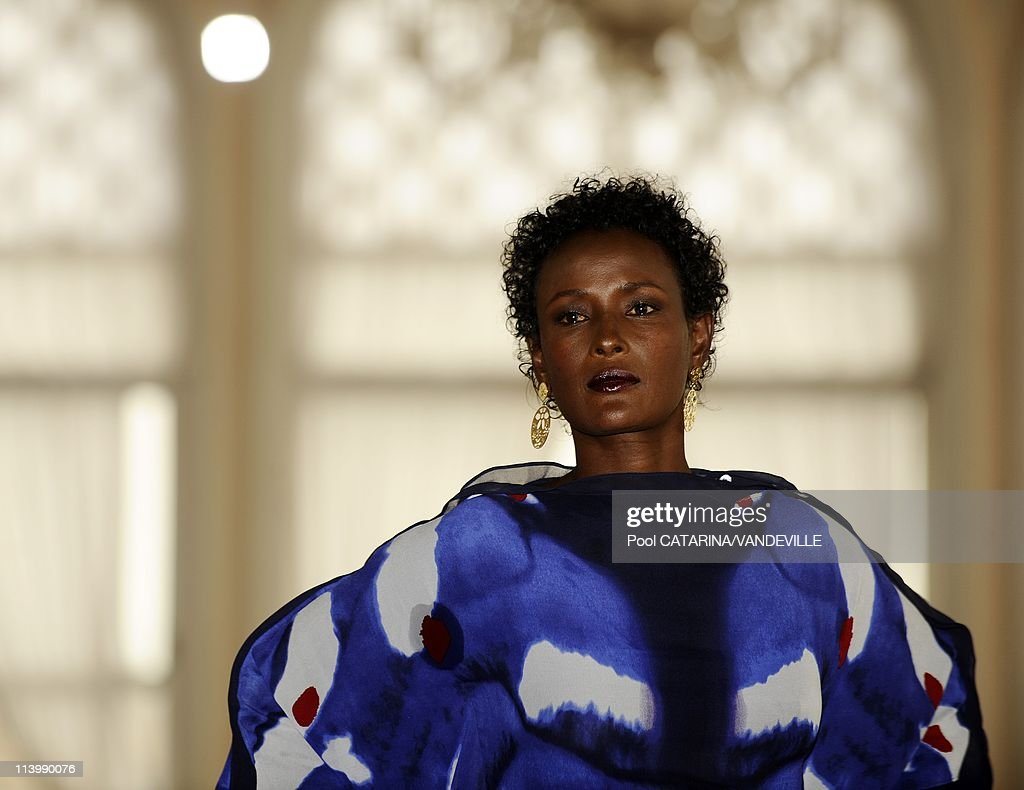 The 66th Venice International Film Festival. Photocall of the movie 'Desert Flower' in Venice, Italy On September 05, 2009-Author Waris Dirie.