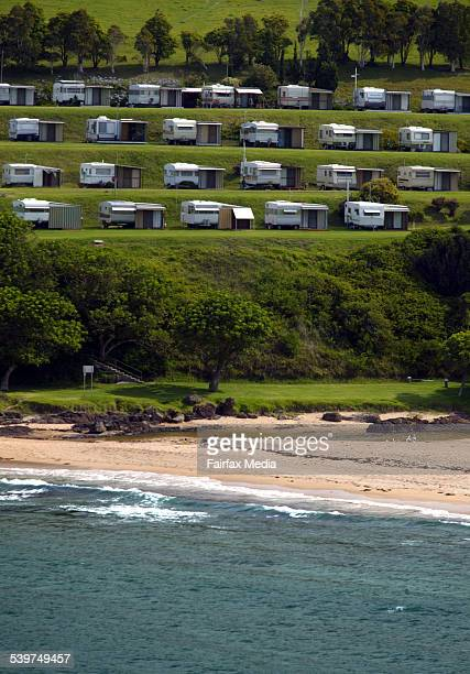 The $68 billion caravan and camping industry is enjoying a boost as families opt for more nostalgic holidays Easts Beach Caravan Park at Kiama 12...