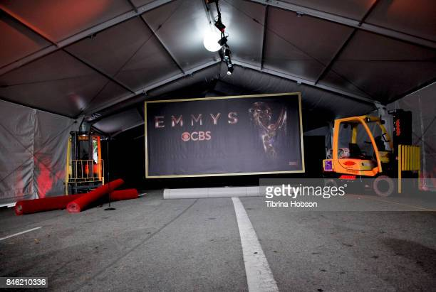 The 69th Emmy Awards Red Carpet Rollout and Press Preview Day at Microsoft Theater on September 12 2017 in Los Angeles California