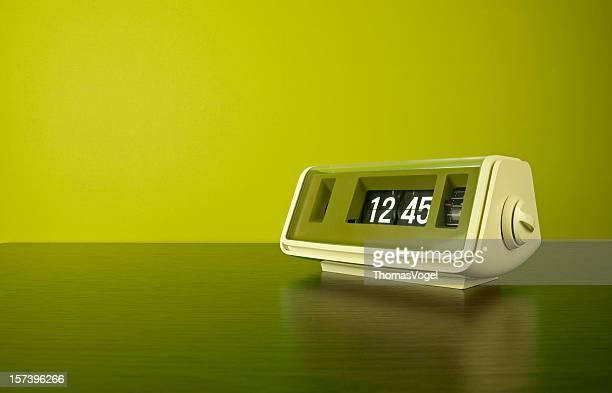The 70s. digital flip clock