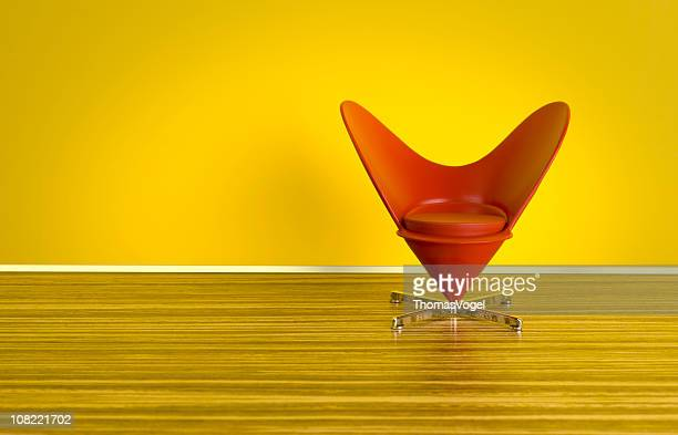 The 70s. Heart-Shaped Cone Chair