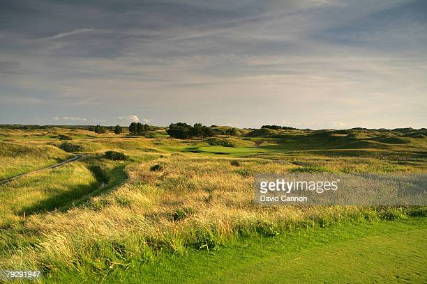 The 7th hole at Royal Birkdale Golf Club venue for the 2008 Open Championship on October 9 2007 in Southport England