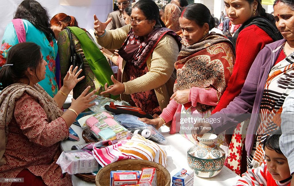 The 83-year-old Church of Redemption near Rashtrapati Bhavan organized a fest to raise money for the education of children of leprosy patients on February 9, 2013 in New Delhi, India. The annual fest had collected Rs. 52 lakhs last year.