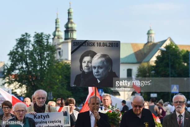 The 87th monthly anniversary of Smolesk's catastrophe outside Wawel Castle in Krakow President Lech Kaczynski and his wife Maria died tragically on...