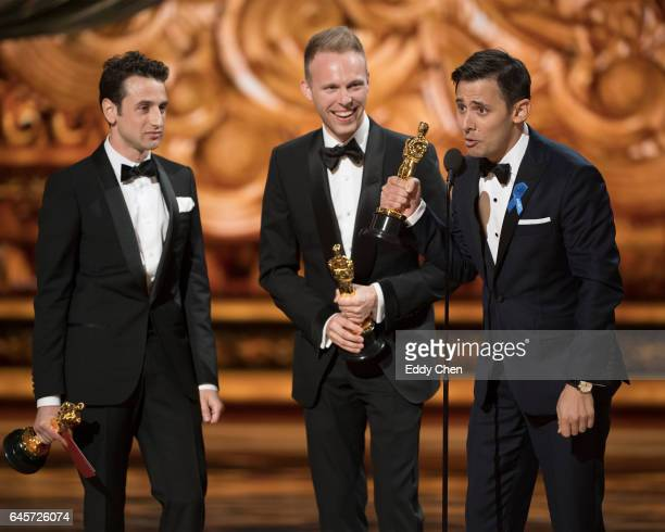 THE OSCARS The 89th Oscars broadcasts live on Oscar SUNDAY FEBRUARY 26 on the ABC Television Network PASEK