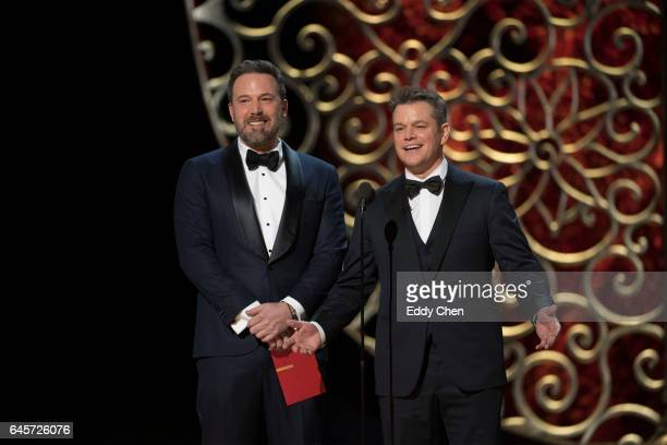 THE OSCARS The 89th Oscars broadcasts live on Oscar SUNDAY FEBRUARY 26 on the ABC Television Network DAMON