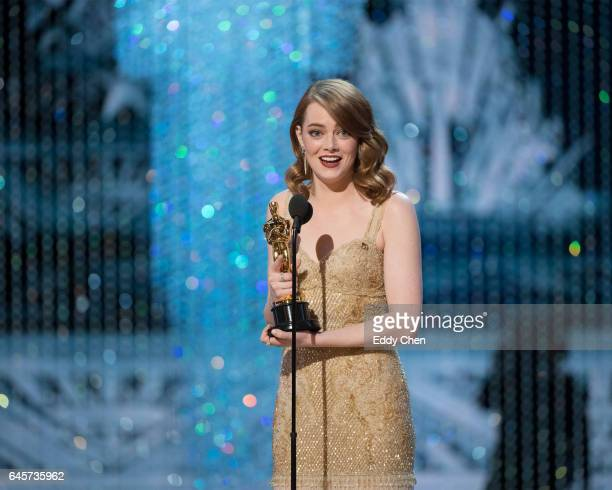 THE OSCARS The 89th Oscars broadcasts live on Oscar SUNDAY FEBRUARY 26 on the ABC Television Network STONE