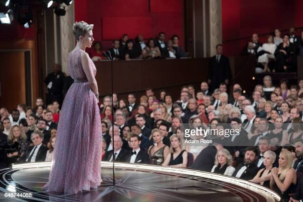 THE OSCARS The 89th Oscars broadcasts live on Oscar SUNDAY FEBRUARY 26 on the ABC Television Network JOHANSSON