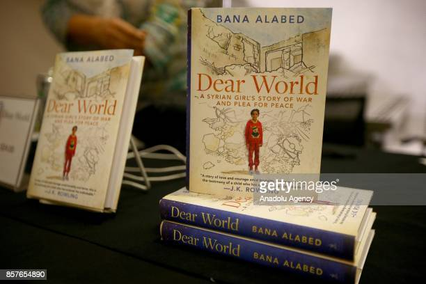 The 8yearold Syrian girl who fled to Turkey from the wartorn Syrian city of Aleppo Bana Alabed's book named 'Dear World A Syrian Girl's Story of War...