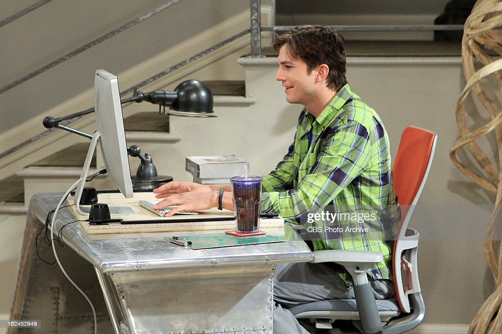 04 From Pemberton' -- Following a fight with Walden, Alan moves in with Herb, on TWO AND A HALF MEN, Thursday, March 7 (8:31 - 9:00 PM, ET/PT) on the CBS Television Network. Pictured: Ashton Kutcher as Walden Schmidt