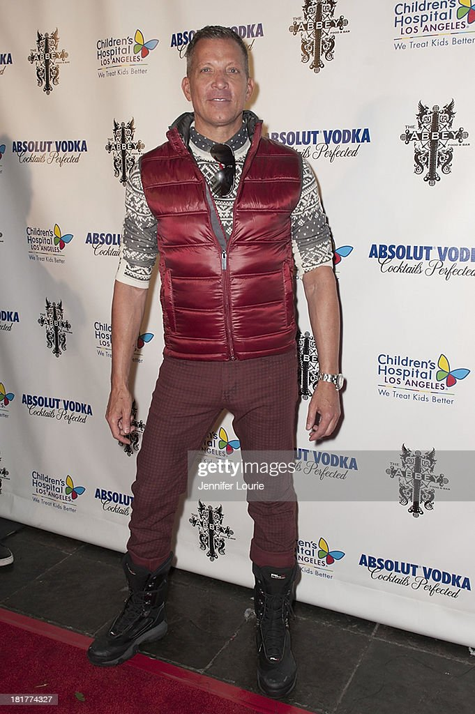 The Abbey founder David Cooley hosts The Abbey's 8th Annual Christmas in September event benefiting The Children's Hospital Los Angeles at The Abbey on September 24, 2013 in West Hollywood, California.