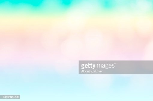 The abstract blue wave background on bokeh style : Stock Photo