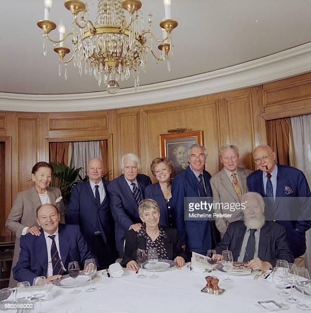 The Academie Goncourt awards the Prix Goncourt a prestigious award for French fiction The ten members of the Academie Goncourt are back row left to...