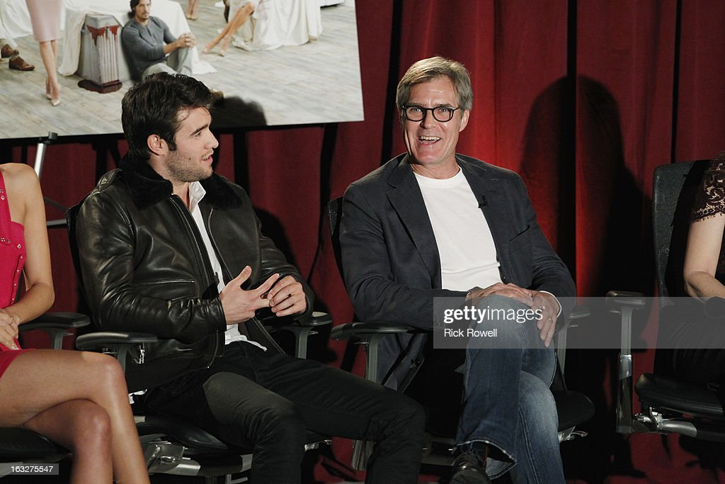 REVENGE - The Academy of Television Arts & Sciences presented 'An Evening with Revenge' with the cast and executive producer of ABC's 'Revenge' at the Leonard H. Goldenson Theatre in North Hollywood, California, on Monday, March 4, 2013. CZERNY