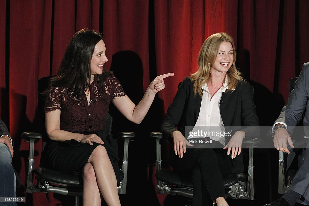 REVENGE - The Academy of Television Arts & Sciences presented 'An Evening with Revenge' with the cast and executive producer of ABC's 'Revenge' at the Leonard H. Goldenson Theatre in North Hollywood, California, on Monday, March 4, 2013. VANCAMP