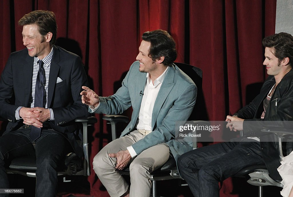 REVENGE - The Academy of Television Arts & Sciences presented 'An Evening with Revenge' with the cast and executive producer of ABC's 'Revenge' at the Leonard H. Goldenson Theatre in North Hollywood, California, on Monday, March 4, 2013. PAOLO