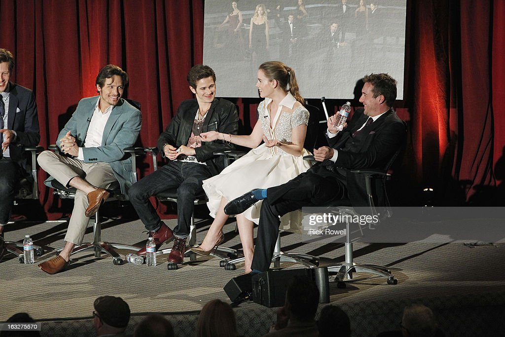REVENGE - The Academy of Television Arts & Sciences presented 'An Evening with Revenge' with the cast and executive producer of ABC's 'Revenge' at the Leonard H. Goldenson Theatre in North Hollywood, California, on Monday, March 4, 2013. , NICK