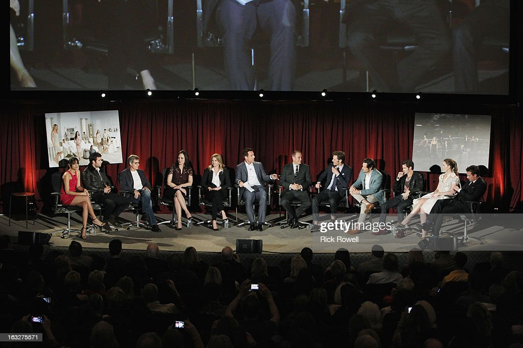 REVENGE - The Academy of Television Arts & Sciences presented 'An Evening with Revenge' with the cast and executive producer of ABC's 'Revenge' at the Leonard H. Goldenson Theatre in North Hollywood, California, on Monday, March 4, 2013. , GABRIEL