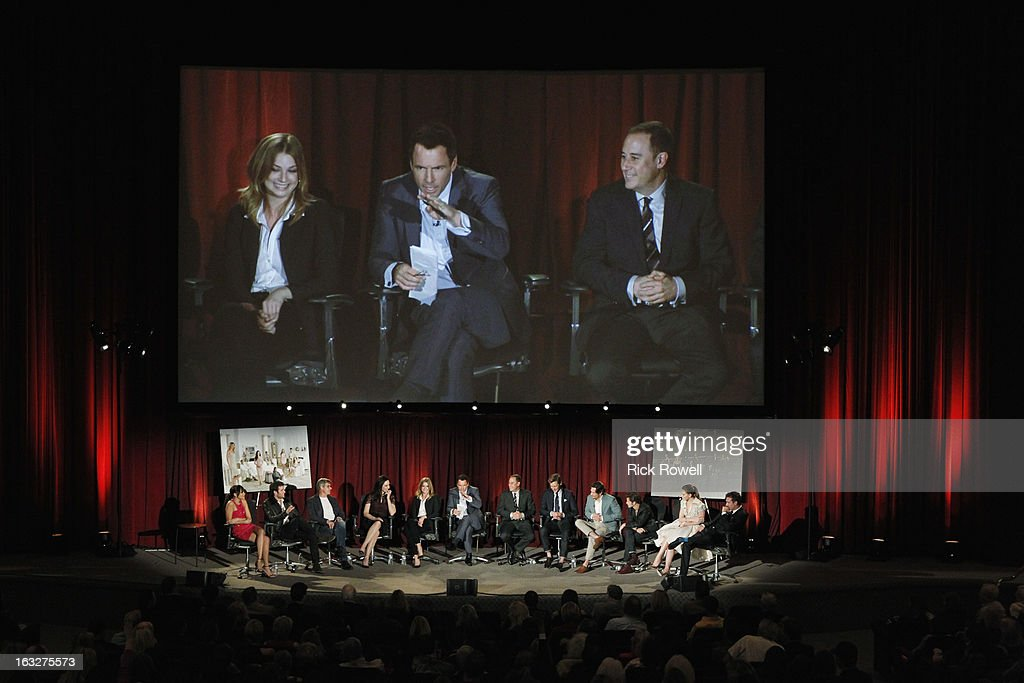 REVENGE - The Academy of Television Arts & Sciences presented 'An Evening with Revenge' with the cast and executive producer of ABC's 'Revenge' at the Leonard H. Goldenson Theatre in North Hollywood, California, on Monday, March 4, 2013. , GABRIEL MANN, NICK WECHSLER, CONNOR PAOLO, CHRISTA B. ALLEN, BARRY SLOANE