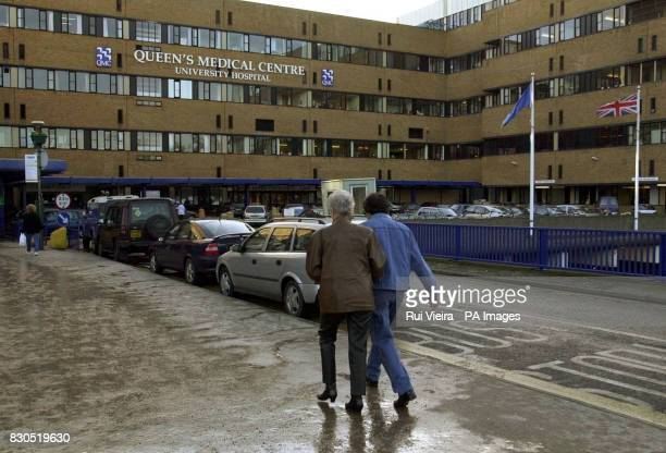 The Accident and Emergency departement at The Queen Elizabeth Medical Centre in Nottingham where The Prince of Wales was taken after being thrown...