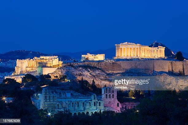 L'Acropole à Athènes, en Grèce