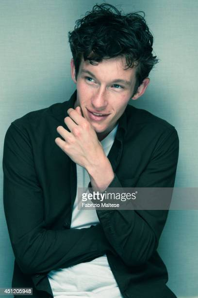 The actor Callum Turner is photographed in Cannes France
