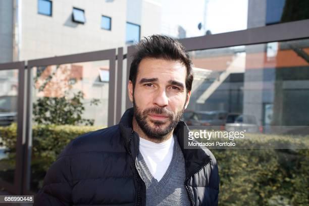 The actor Edoardo Leo in Milan Milan Italy 17th February 2015