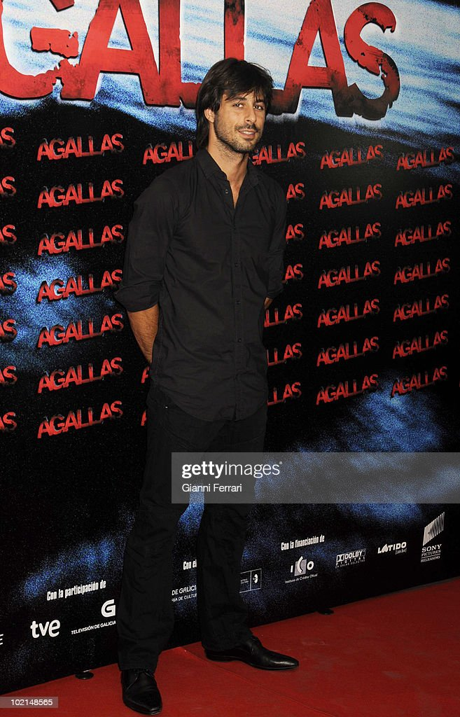 The actor Hugo Silva in the premiere of the film 'Agallas', 3rd September 2009, Cinema 'Proyecciones', Madrid, Spain.