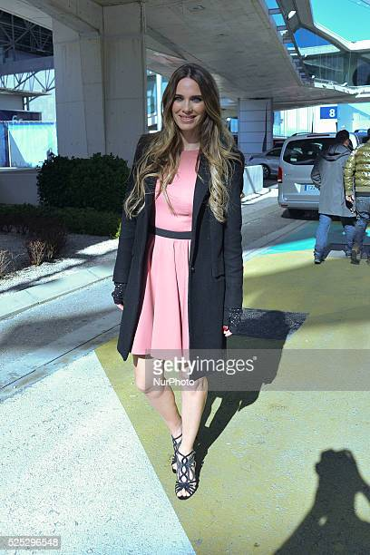 The actress and model Vanessa Romero attends fashion shows of the Madrid Fashion Week in Madrid Photo Oscar Gonzalez/NurPhoto