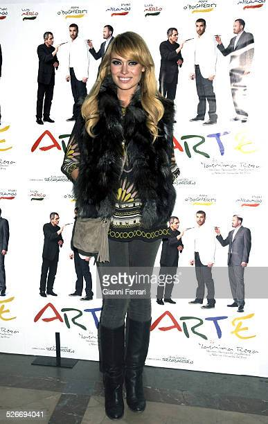 The actress and TV presenter Patricia Conde at the premiere of the play 'Art' at the Alcazar Theatre3rd March 2009 Madrid Spain
