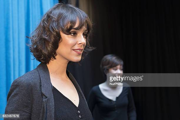 The actress Belen Cuesta poses for the photographers during a promocinal event in Madrid January 23 2017