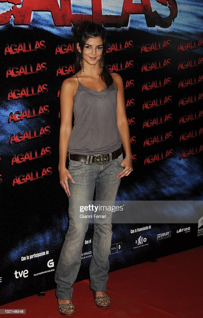 The actress Clara Lago in the premiere of the film 'Agallas', 3rd September 2009, Cinema 'Proyecciones', Madrid, Spain.