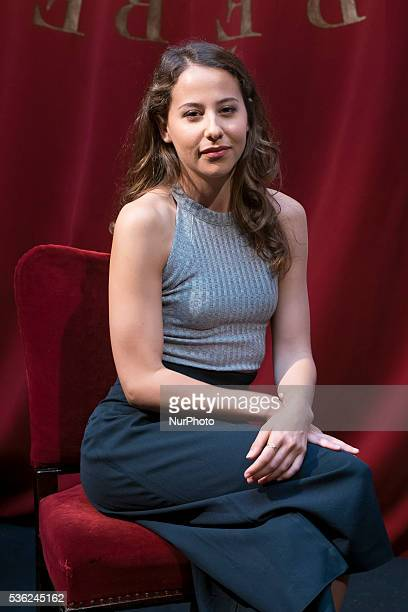 The actress Irene Escolar attends the presentation of the theater play quotSoul and Bodyquot in the Spanish theater of Madrid Spain May 31 2016