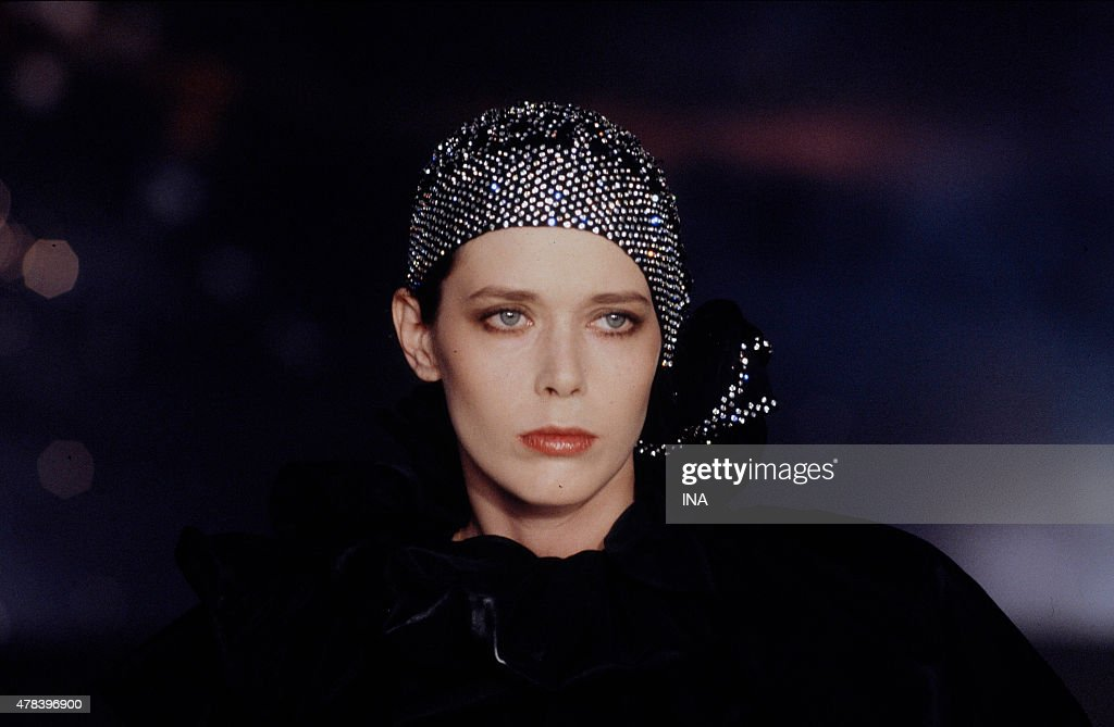 The actress <a gi-track='captionPersonalityLinkClicked' href=/galleries/search?phrase=Sylvia+Kristel&family=editorial&specificpeople=1671851 ng-click='$event.stopPropagation()'>Sylvia Kristel</a> invited in the program ''Number one''