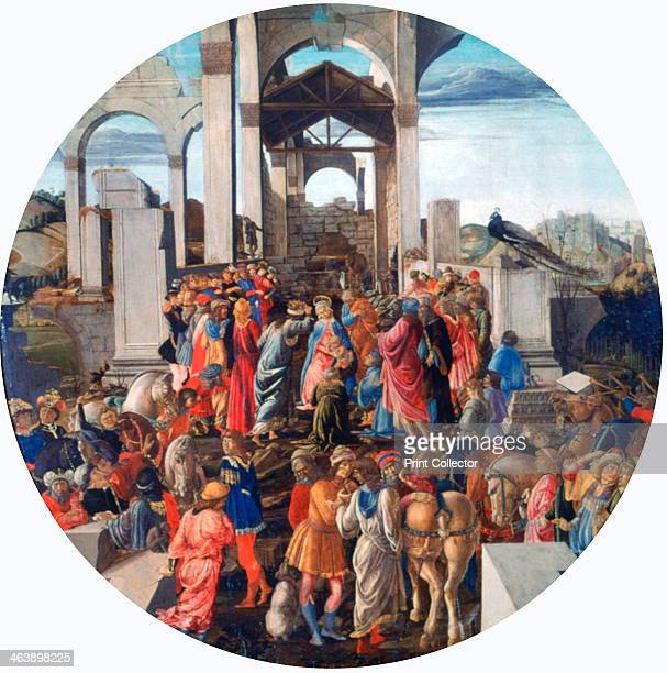 'The Adoration of the Kings' c14701475 From the collection of the National Gallery London