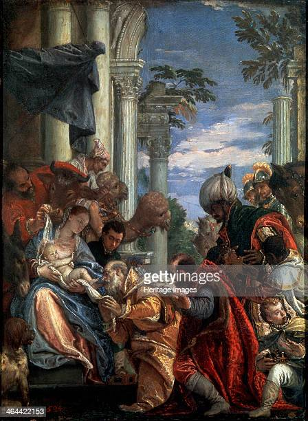 'The Adoration of the Magi' 1570s Veronese Paolo Found in the collection of the State Hermitage St Petersburg
