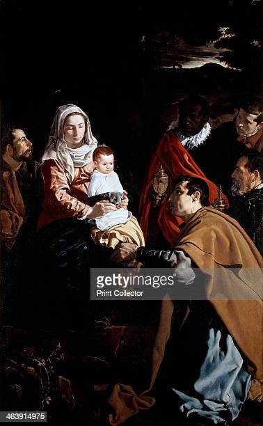 'The Adoration of the Magi' 1619 From the collection of the Museo del Prado Madrid Spain