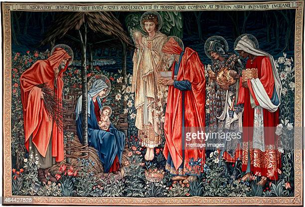 'The Adoration of the Magi' tapestry 1890 Found in the collection of the State Hermitage St Petersburg