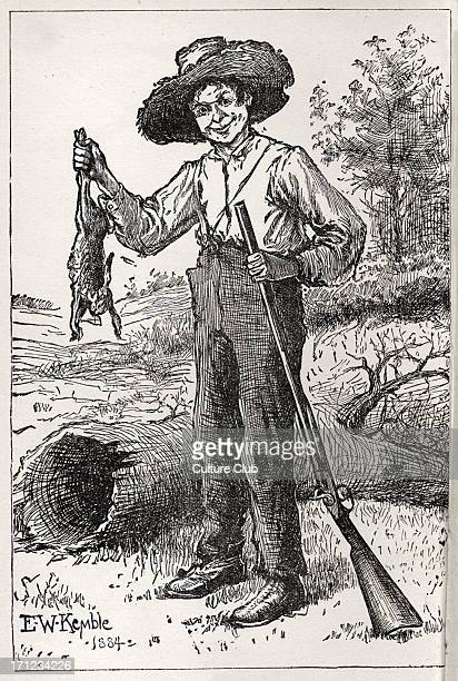 the naivety of huck finn in mark twains novel the adventures of huckleberry finn Mark twain on the loose :  way to human nature and look for meaning in adventures of huckleberry finn  at least two mark twains here nostalgic for.