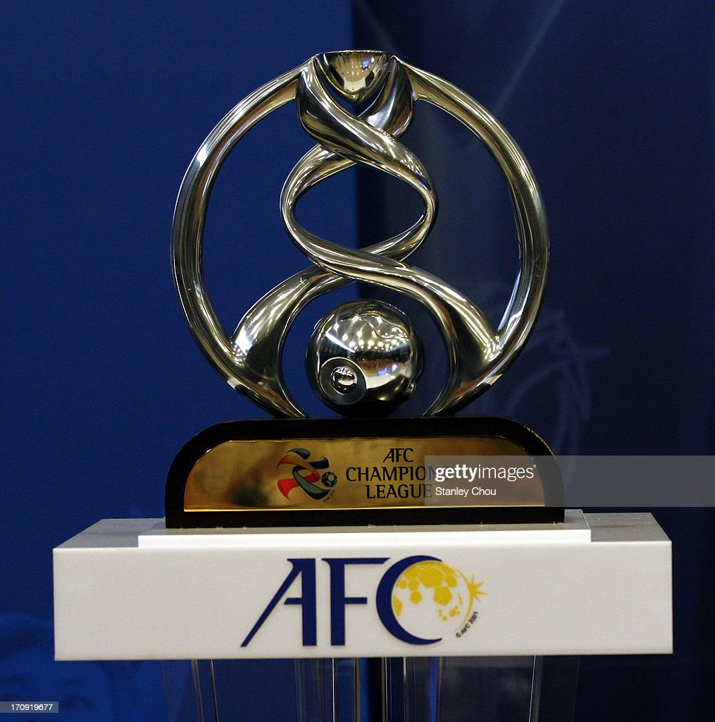 The AFC Champions League Trophy is displayed during the Quarter Finals Knock-out Stage Draw of the 2013 AFC Champions League at the AFC House on June 20, 2013 in Kuala Lumpur, Malaysia.