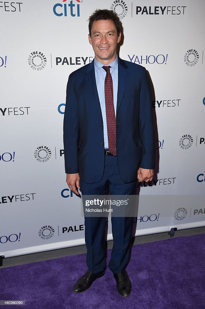 The Affair's <a gi-track='captionPersonalityLinkClicked' href=/galleries/search?phrase=Dominic+West&family=editorial&specificpeople=211555 ng-click='$event.stopPropagation()'>Dominic West</a> arrives for the third annual PaleyFest NY at The Paley Center for Media on October 12, 2015 in New York City.