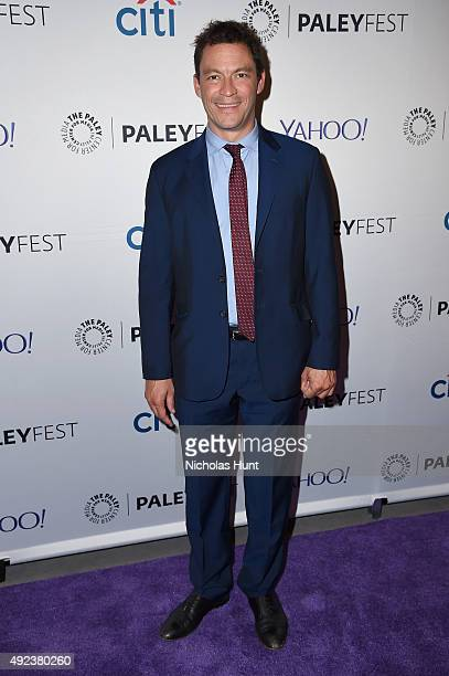The Affair's Dominic West arrives for the third annual PaleyFest NY at The Paley Center for Media on October 12 2015 in New York City