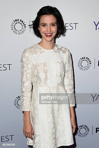 The Affair's Julia Goldani Telles arrives for the third annual PaleyFest NY at The Paley Center for Media on October 12 2015 in New York City