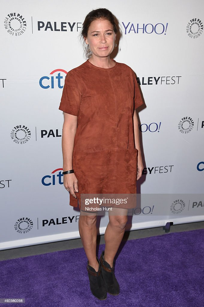 The Affair's Maura Tierney arrives for the third annual PaleyFest NY at The Paley Center for Media on October 12 2015 in New York City