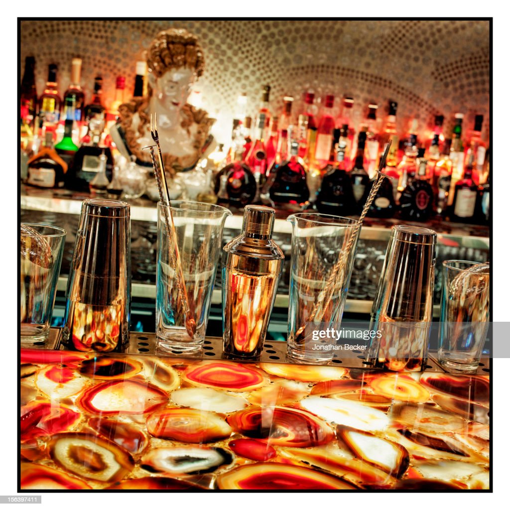 The African Bar is photographed at 5 Hertford Street, which is the home of nightclub Loulou's for Vanity Fair Magazine on June 11, 2012 in London, England.