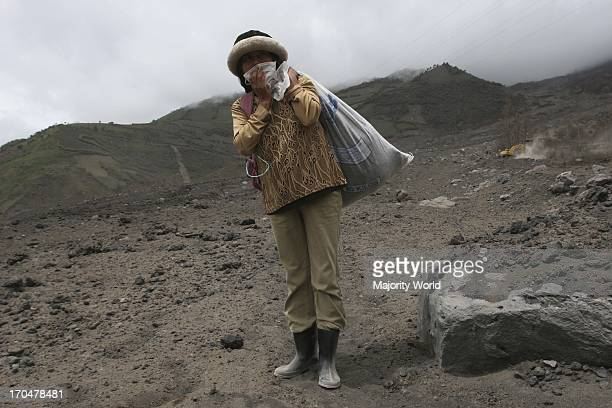 The aftermath of a devastating volcanic eruption The Tungurahua an active volcano in the Cordillera Central of Ecuador erupted on July 14th and...