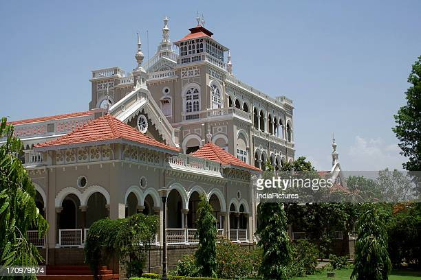 The Aga Khan Palace constructed by Sultan Mohammed Shah in the year 1892 Pune Maharashtra India