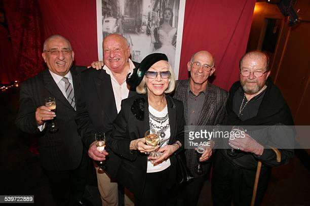 The Age News Fashion Fashion icons gather for a book launch celebrating the history of Melbourne Fashion in Flinders Lane on 8th September 2005 THE...